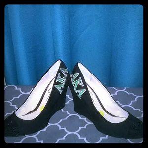 Shoes - Custom Monogram Sorority Heels